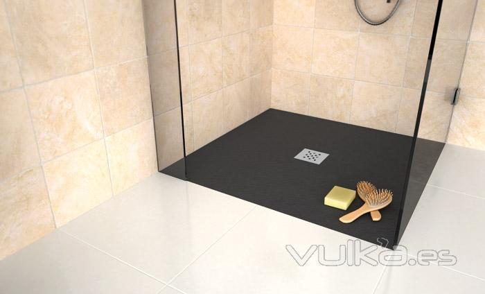 Pin plato de ducha silex on pinterest for Piletta doccia filo pavimento
