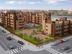 Proyecto de 106 viviendas para la sociedad cooperativa madrile�a el vivero. numar arquitectos