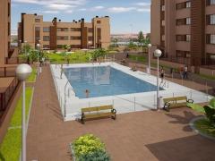 Proyecto de 106 viviendas para la Sociedad Cooperativa madrileña El Vivero. Numar arquitectos