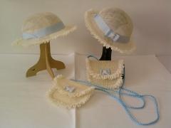 Sombreritos de ni�o con bolsos de ni�o para boda
