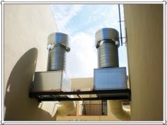 Instalaciones de ventilacion y extraccion de garajes, sotanos, locales comerciales, etc.