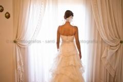 La novia antes del enlace