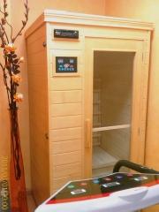 Sauna y plataforma vibratoria