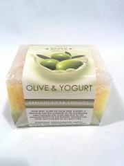 Jab�n esponja peeling oliva-yogurt