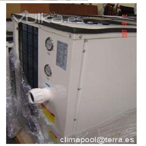 Foto bomba de calor para piscina 50kw for Instalacion de bomba de calor para piscinas