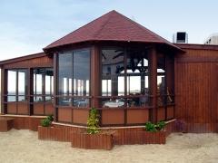 Estructura de madera para casa y cabana