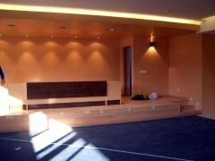 Obra centro integrado sala de juntas
