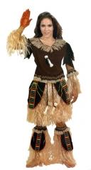 Disfraz guerrera africana