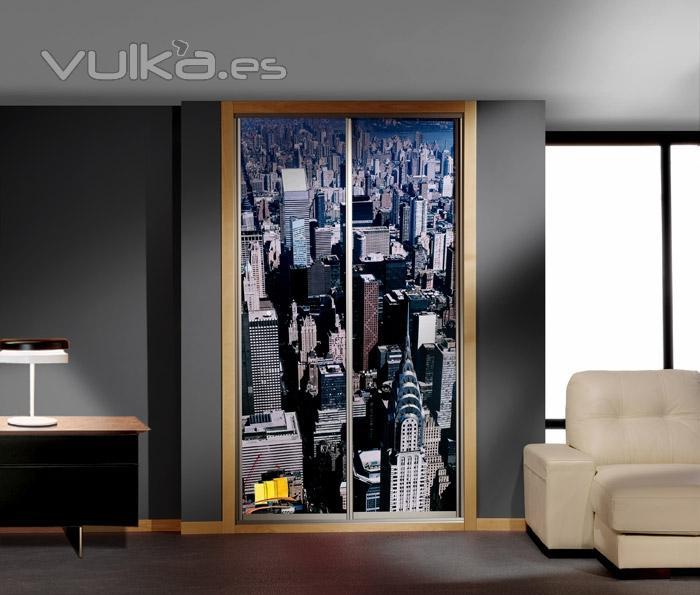 Foto armarios decorados con vinilos for Muebles juveniles albacete