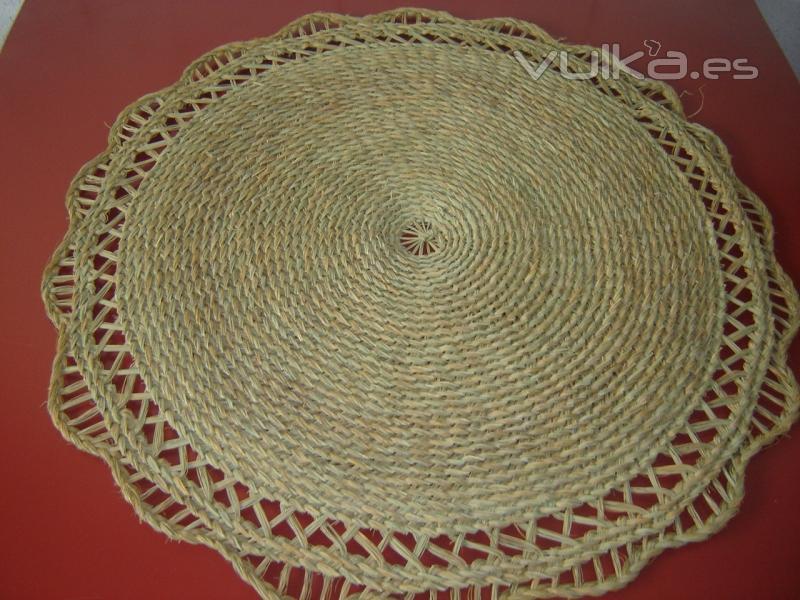 Foto alfombras y esteras de esparto muy rusticas y - Alfombras rusticas ...