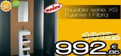Mueble fuente i fibra de maderó con un 30% de descuento