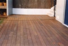 Suelo de madera para piscinas y teraza