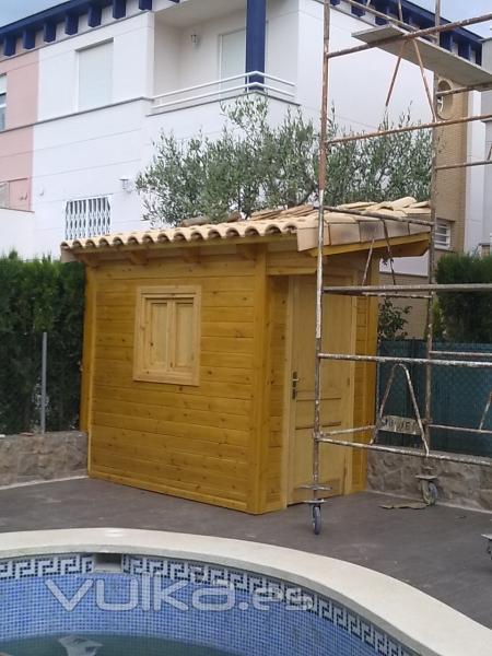 Foto caseta para depuradoras de piscinas for Depuradoras para piscinas