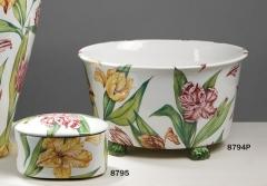 Jardineras serie tulipa, cer�mica san marco.