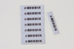 Etiquetas adhesivas acusto magn�ticas (AM)