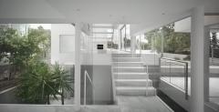interior de vivienda unifamiliar aislada construida en Los Belones