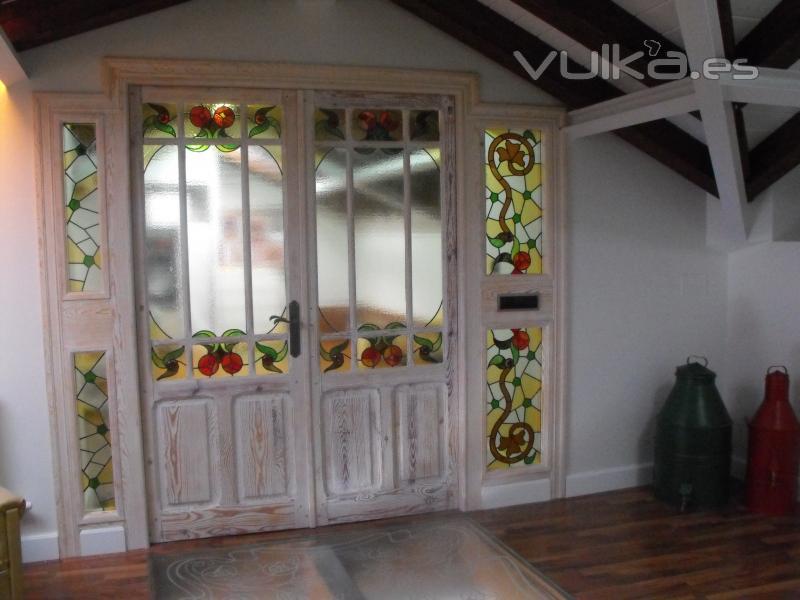 Vitrex for Puertas con vidrieras decorativas