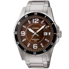 Reloj Casio Caballero Mtp-1291d-5av de Cadena Acero