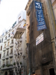 Rehabilitaci�n integral edificio en c. sta. teresa el carme valencia www.cefvalencia.es