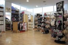 Imagen interior de la tienda.