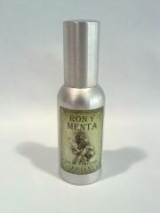Perfume eau-de-cologne ron y menta