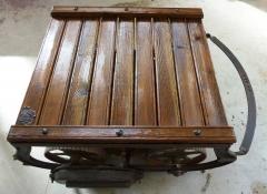 trilla restaurada=Mesa Rustica