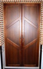 Frontal de madera abatible, de diseño y a medida