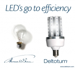 Alumbrado p�blico led. led�s go to efficiency.