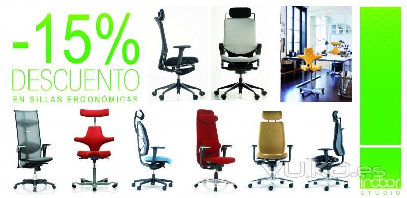 Foto: Oferta Sillas de Oficina Ergonómicas Válida hasta 31/5/2011