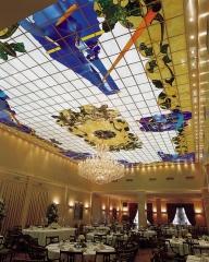 Techo de 150 metros cuadrados en restaurante villaca�as