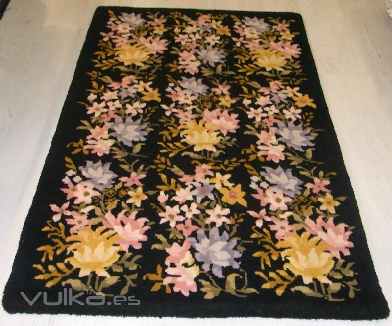 Foto alfombra china hecha a mano lana for Alfombras chinas