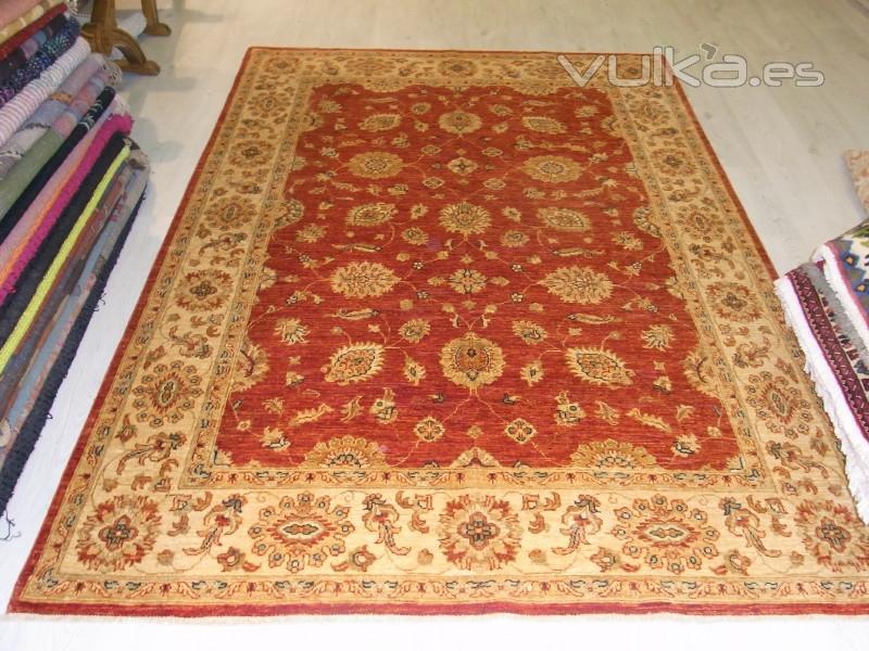 foto alfombra pakistan hecha a mano lana