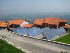 Instalacion de 35 paneles solares termicos para acs