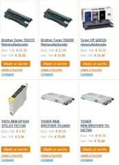Tienda On-Line Ejemplo Consumibles Impresora