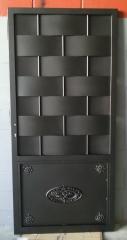 Puerta chapa ondulada