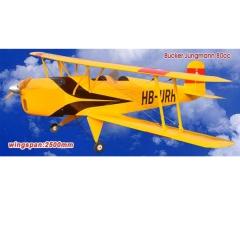Avión bucker jungmann artf jfc gran escala