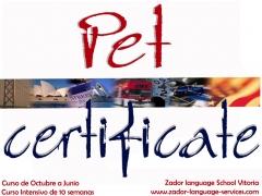 Curso de preparación de Pet Certificate en Vitoria-Gasteiz