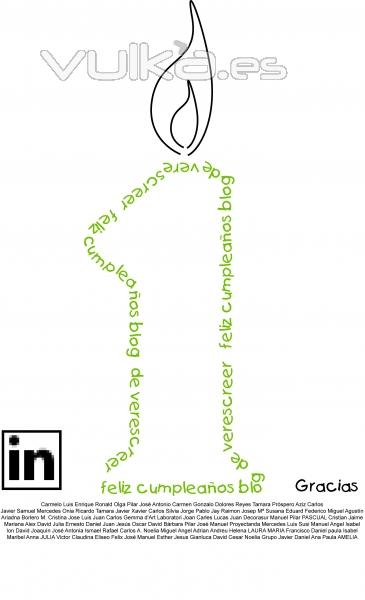 umplea�os del blog de verescreer.es en Linkedin
