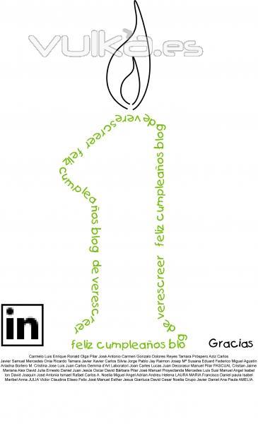 umpleaños del blog de verescreer.es en Linkedin