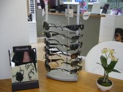 Expositor gafas con seguridad mec�nica