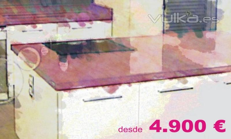 Oferta cocina completa excellent oferta cocina blanco - Cuanto vale una cocina completa ...