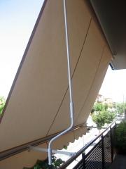 Instalaci�n de toldo de balcon en palafrugell
