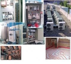 Electricidad, fontaner�a y climatizaci�n a nivel industrial y dom�stico