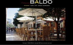 Restaurante baldo     www.cerveceriabaldo.com