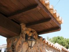 Portico de madera
