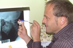 Mark barry quiropractico. experto columna vertebral. centro barry quiropractica bilbao