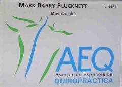 Mark quiropractico. centro barry quiropractica bilbao. miembro asociacion espa�ola de quiropractica.