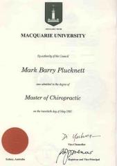 Centro barry quiropractica. quiropractor mark. especialista columna vertebral.