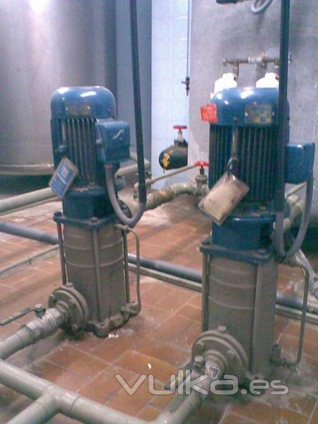 Instalaciones salvador s l trasformaciones de salas de for Grupo de presion de agua para edificios