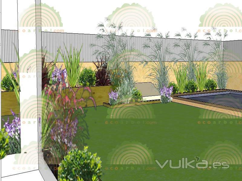 Foto proyectos de jardiner a valencia y castellon - Jardineria villanueva valencia ...